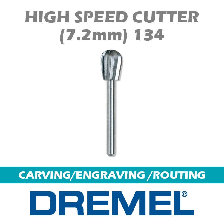 DREMEL CARVING-ENGRAVING-ROUTING 134 DM