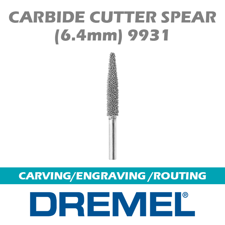 Dremel 9931 Carbide Cutter Spear