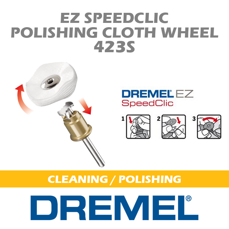 DREMEL CLEANING-POLISHING 423S DM