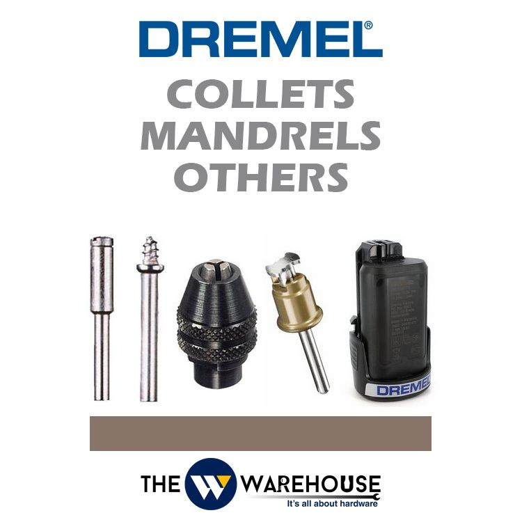 Dremel Collets/Mandrels/Others