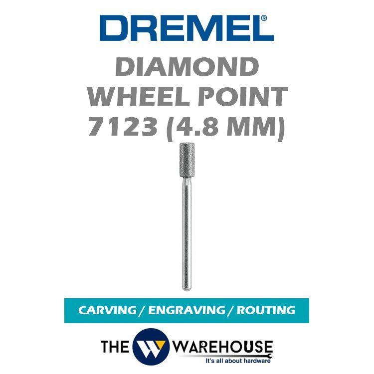 Dremel Diamond Wheel Point 7123