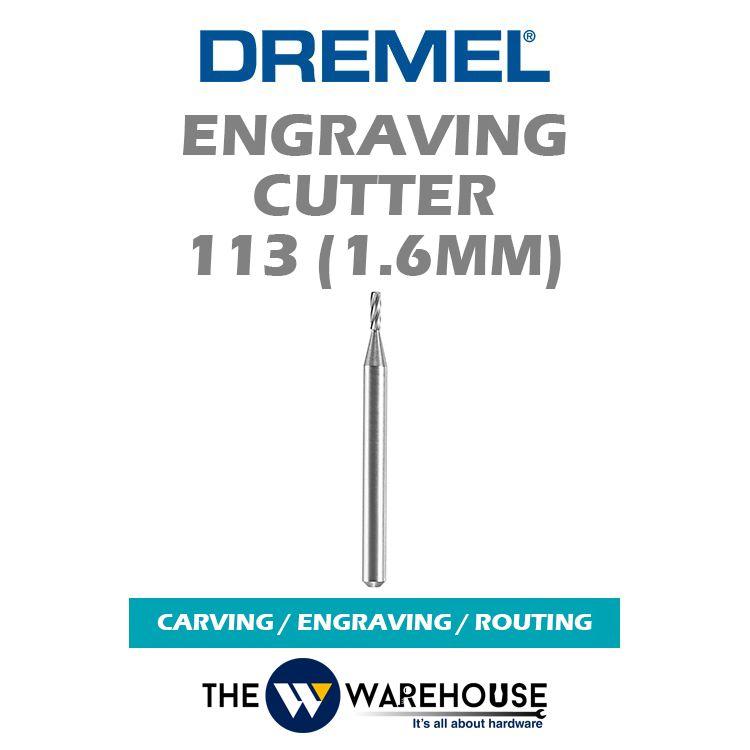 Dremel Engraving Cutter 113