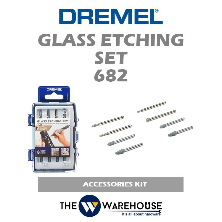 Dremel Glass Etching Set 682