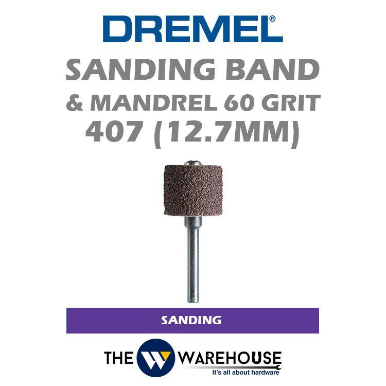 Dremel Sanding Band & Mandrel G60 407