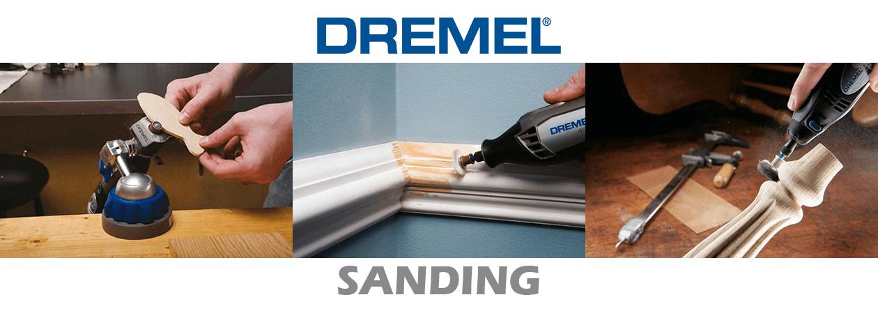 Dremel Sanding