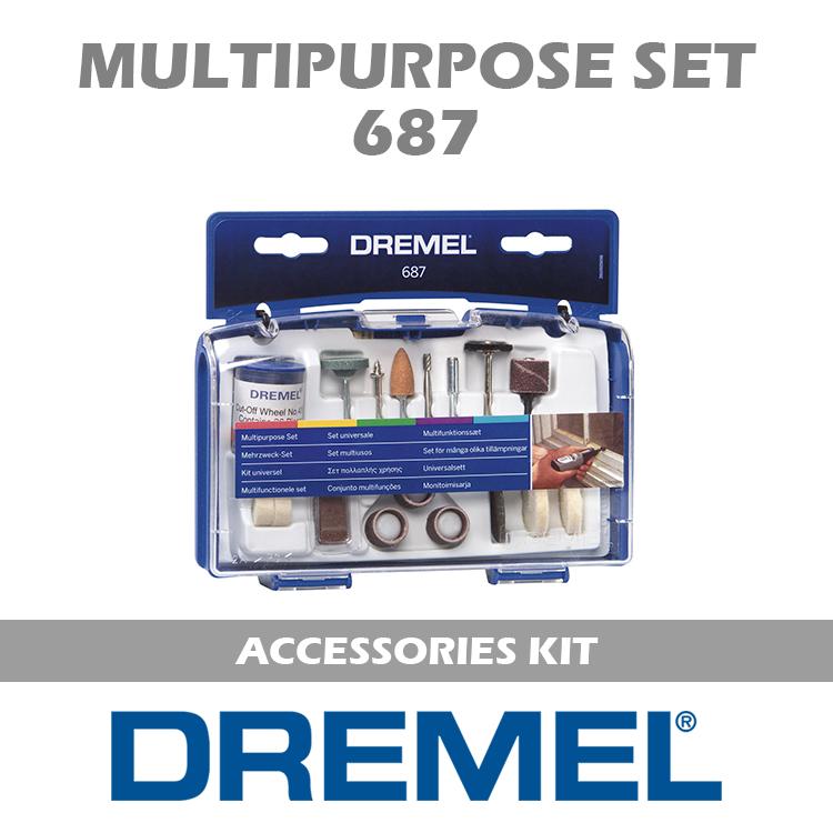 DREMEL SET 687 DM
