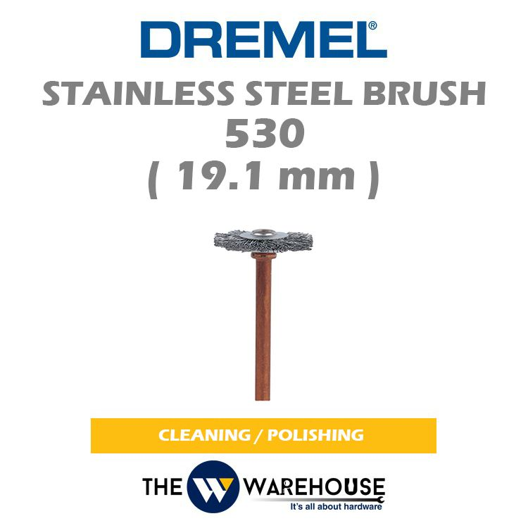 DREMEL Stainless Steel Brush 530