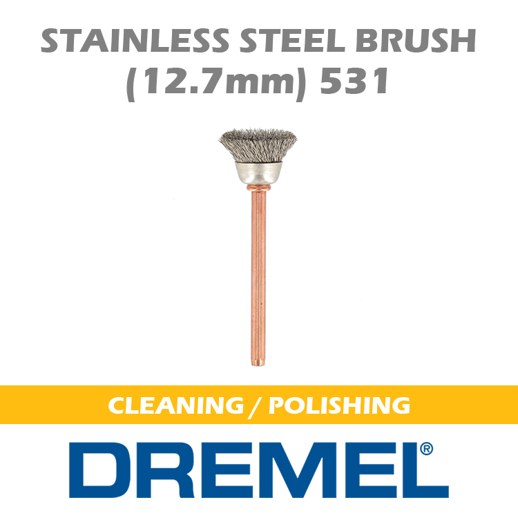 DREMEL Stainless Steel Brush 531 BH