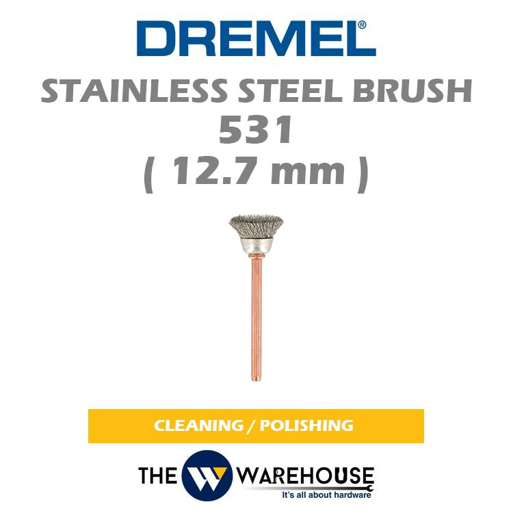 DREMEL Stainless Steel Brush 531