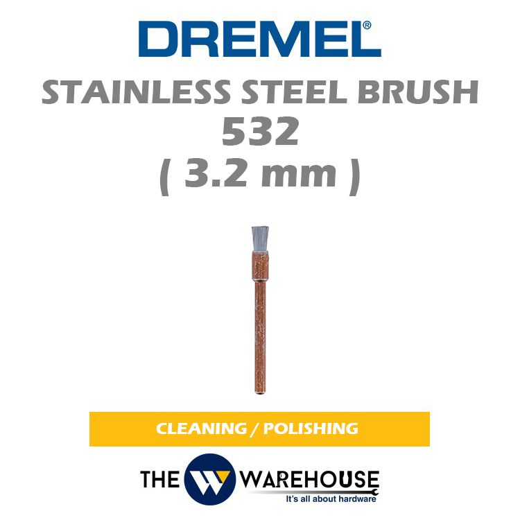 DREMEL Stainless Steel Brush 532