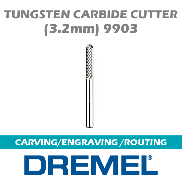 DREMEL Tungsten Carbide Cutter 9903 BH