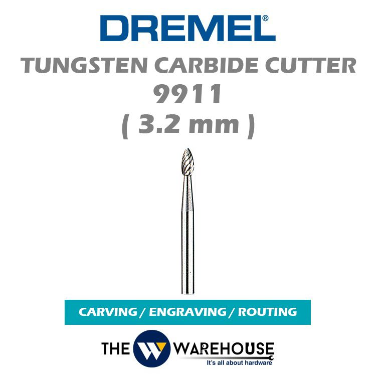 Dremel Tungsten Carbide Cutter 9911