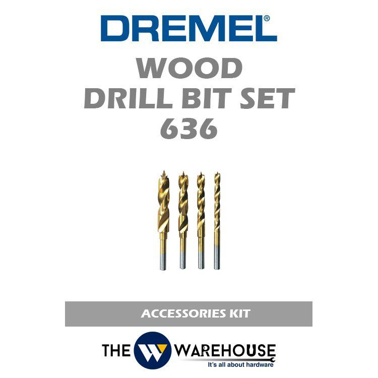 Dremel Wood Drill Bit Set 636