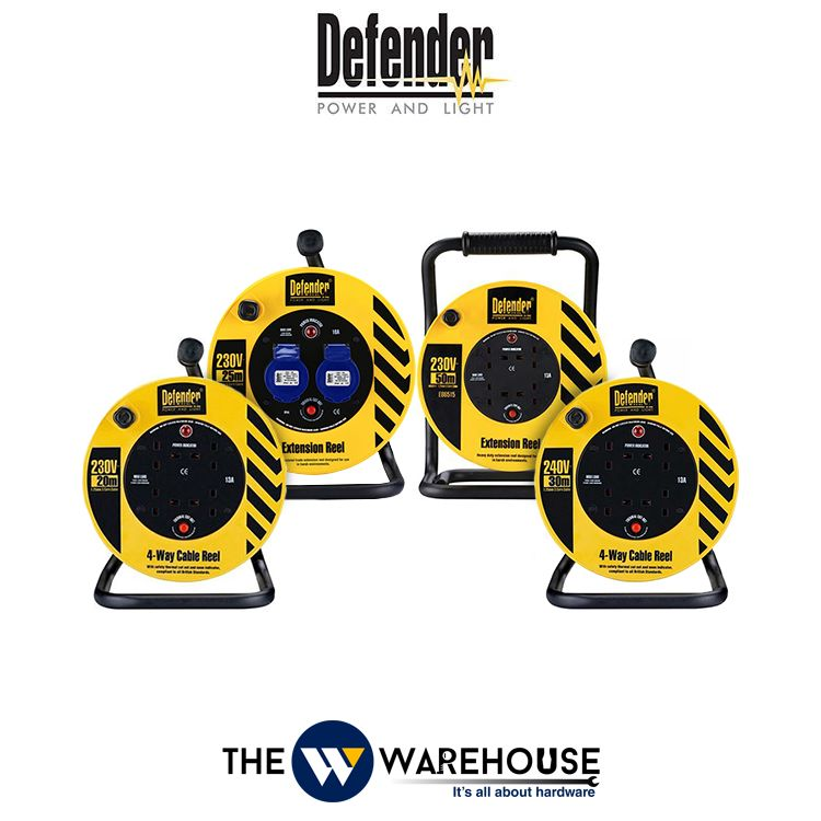 Defender Power Heavy Duty Cable Reels