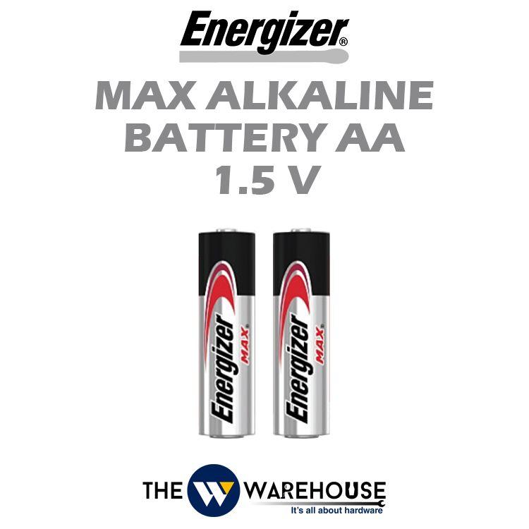 Energizer Max Alkaline Battery AA 1.5V