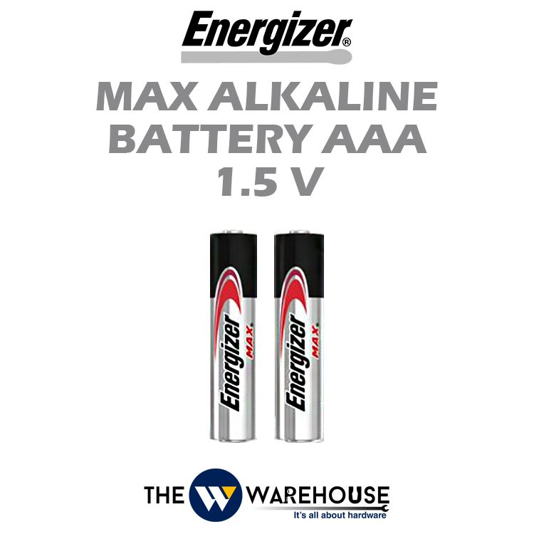 Energizer Max Alkaline Battery AAA 1.5V
