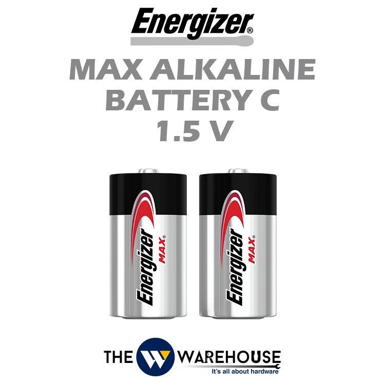 Energizer Max Alkaline Battery C 1.5V
