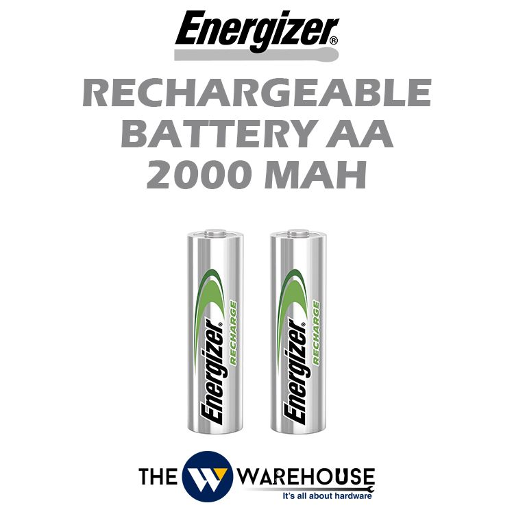 Energizer Rechargeable Battery AA 2000mAh