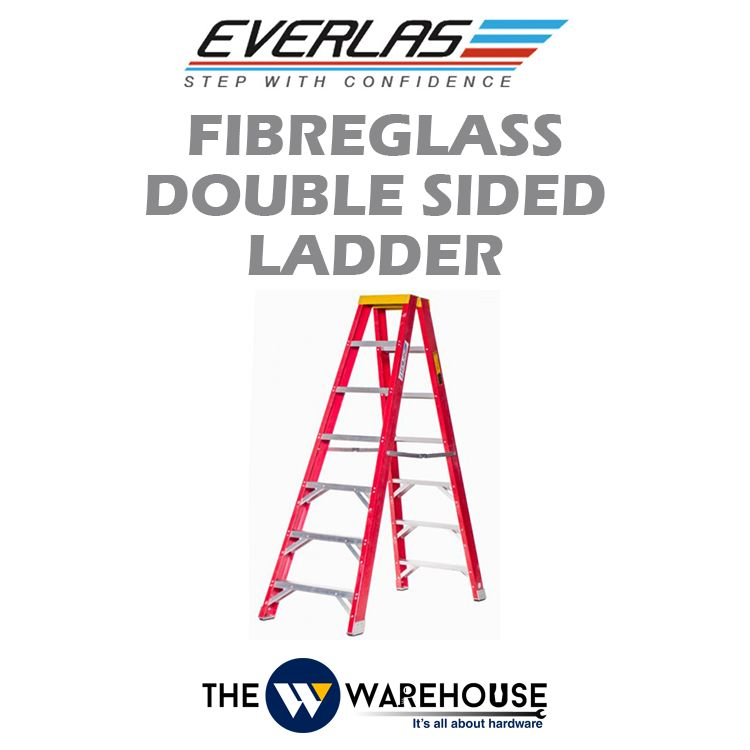 Everlas Fibreglass Double Sided Ladder YFGDS Series