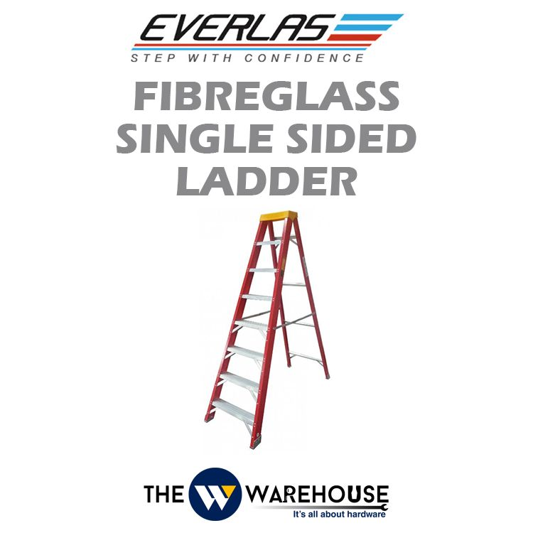 Everlas Fibreglass Single Sided Ladder YFGSS Series