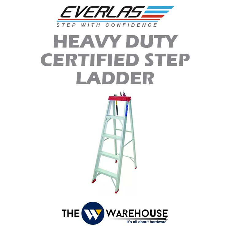 Everlas Heavy Duty Certified Step Ladder YCS Series