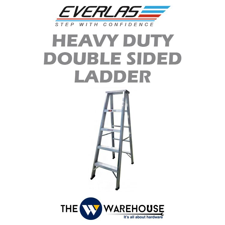 Everlas Heavy Duty Double Sided Ladder HDDS Series
