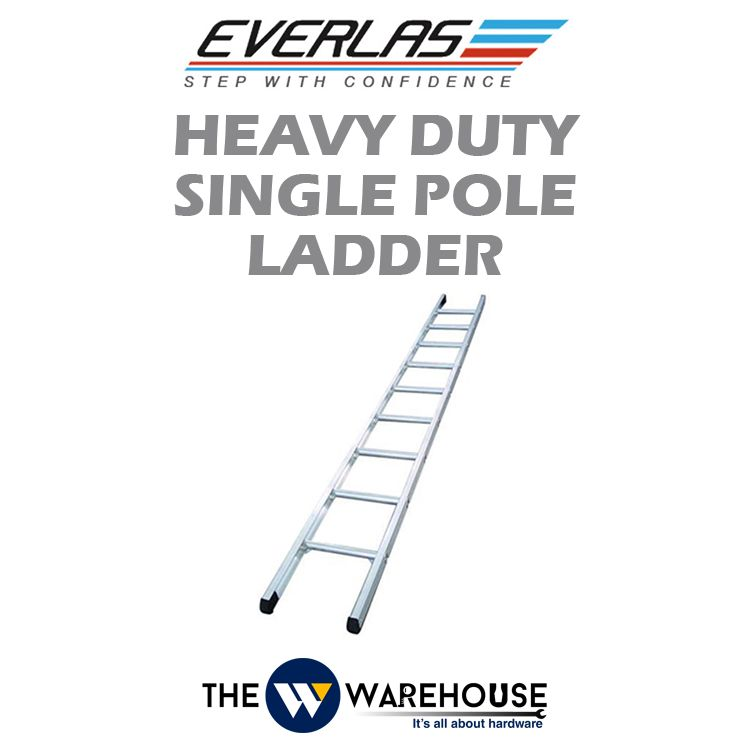 Everlas Heavy Duty Single Pole Ladder ES Series