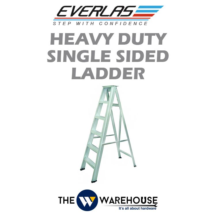 Everlas Heavy Duty Single Sided Ladder HD Series
