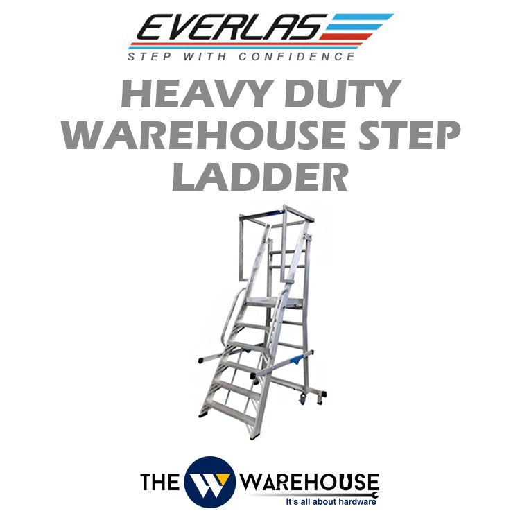Everlas Heavy Duty Warehouse Step Ladder YFWS Series