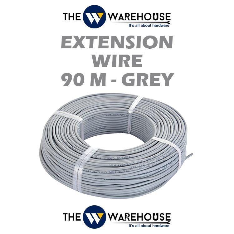 Extension Wire 90 Meter - Grey