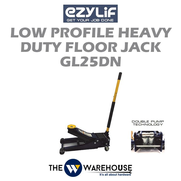 Ezylif Heavy Duty Floor Jack GL25DN