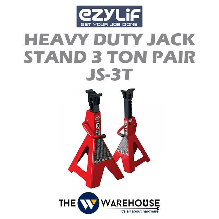 Ezylif Heavy Duty Jack Stand 3 Ton Pair JS-3T