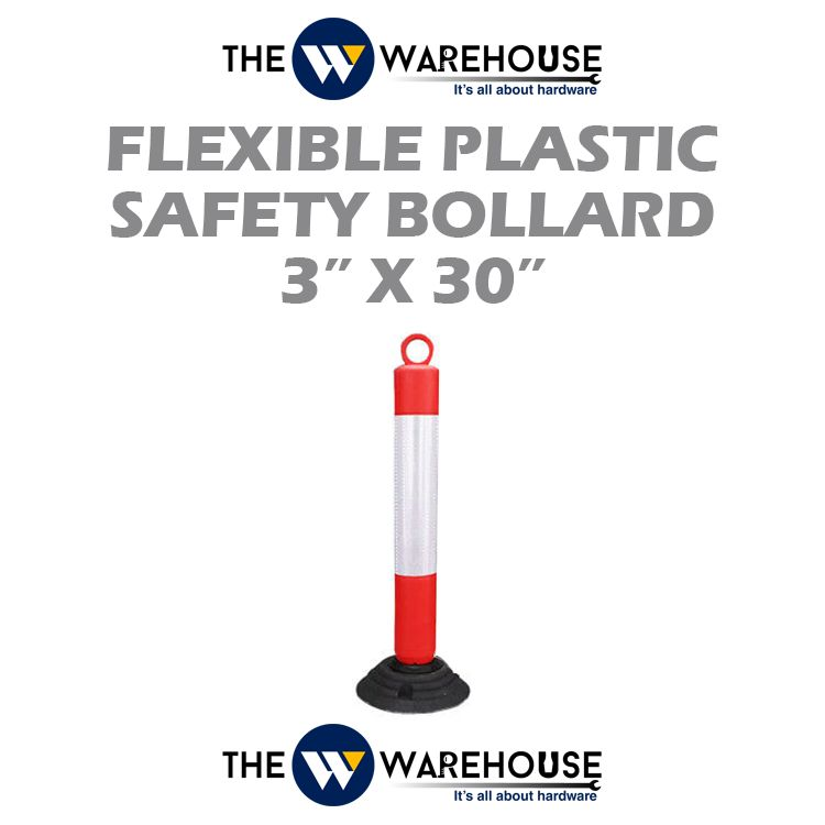Flexible Plastic Safety Bollard 750 mm