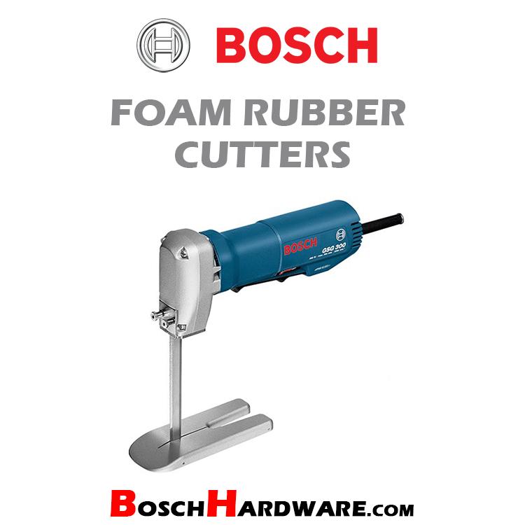 Foam Rubber Cutters