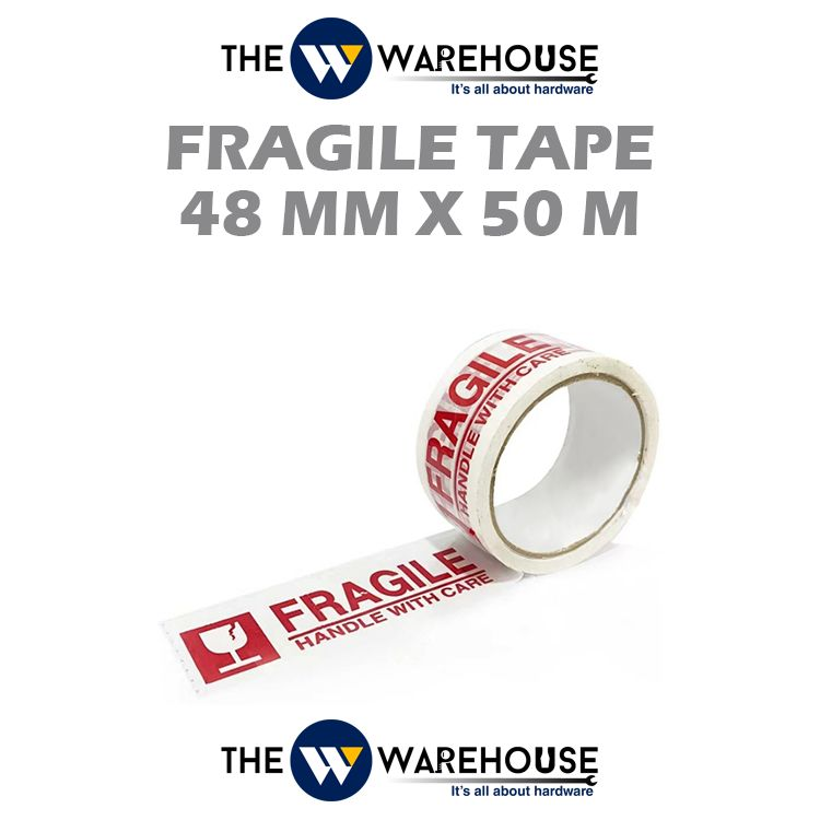 Fragile Tape 48mm x 50m