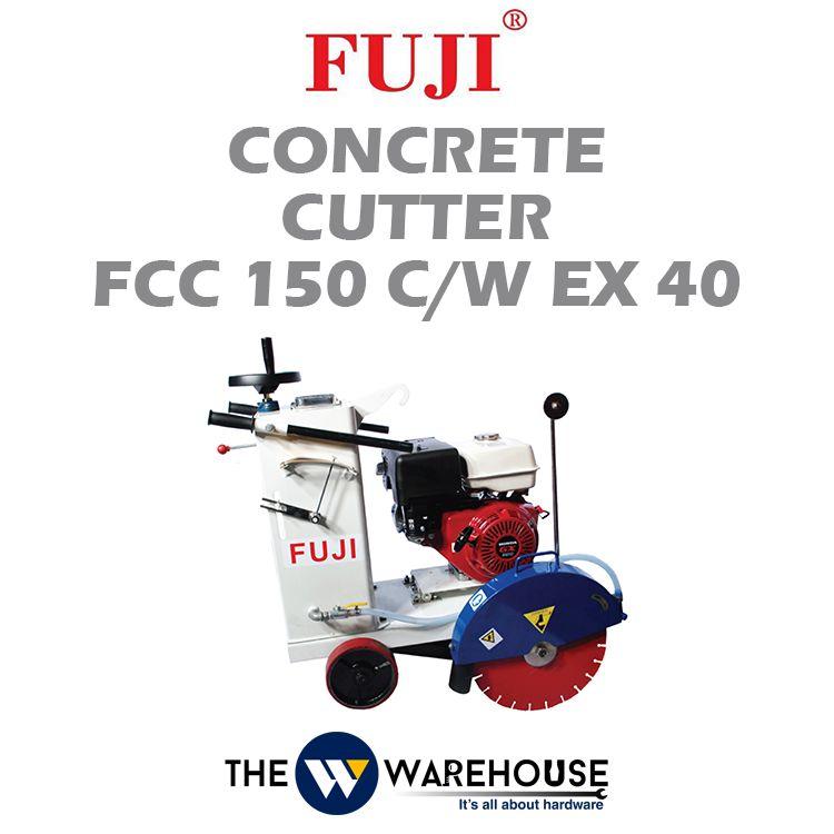FUJI Concrete Cutter FCC150 c/w EX40