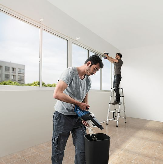 Bosch Cordless Vacuum Cleaner GAS 18 V-1 (SOLO)