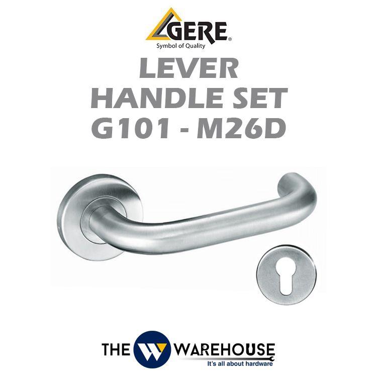GERE Lever Handle Set G101-M26D