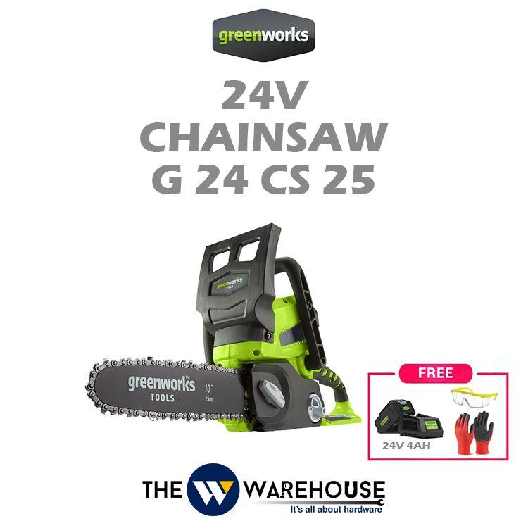 Greenworks 24V Chainsaw G24CS25