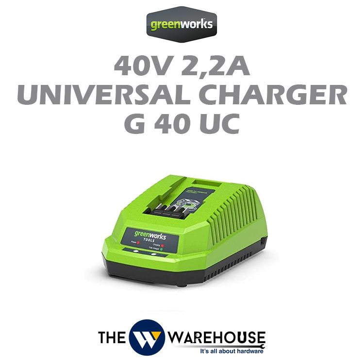 Greenworks 40V 2,2A Universal Charger G40UC