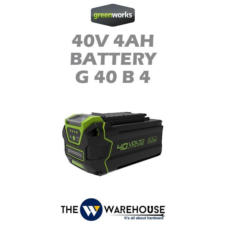 Greenworks 40V 4Ah Battery G40B4