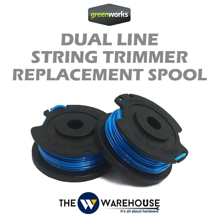 Greenworks Dual Line String Trimmer Replacement Spool
