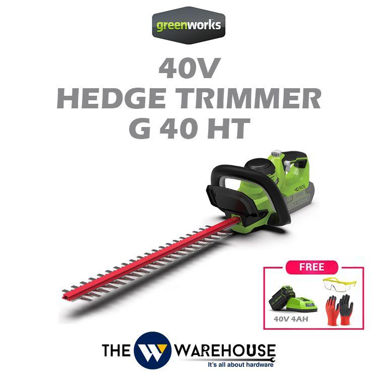 Greenworks 40V Hedge Trimmer G40HT