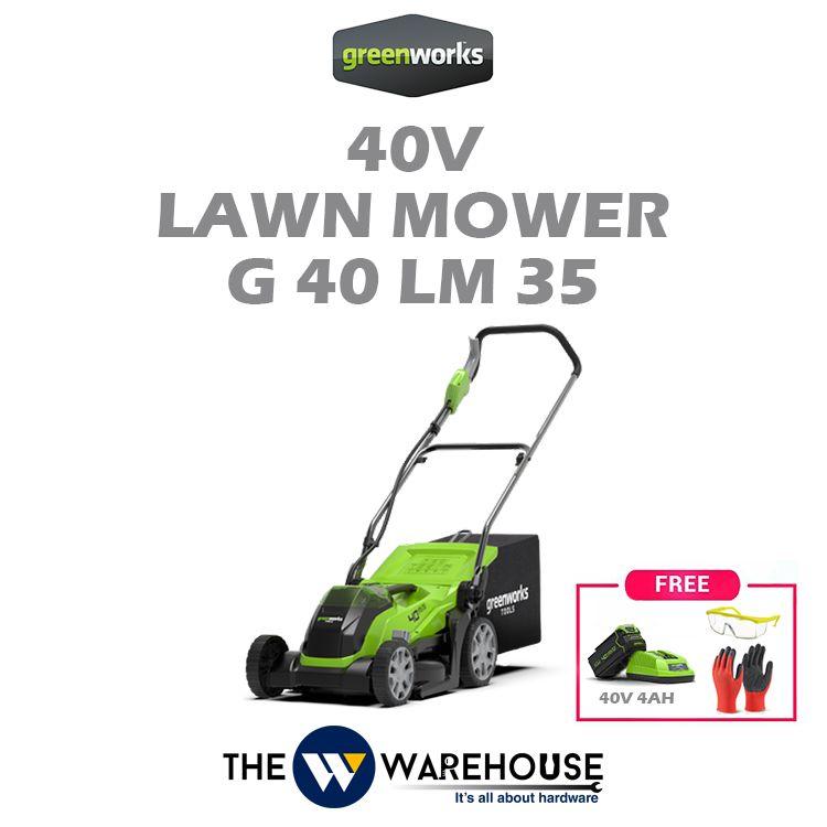 Greenworks 40V Lawn Mower 35mm G40LM35