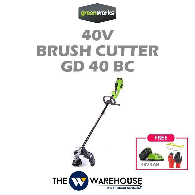Greenworks 40V Brush Cutter GD40BC