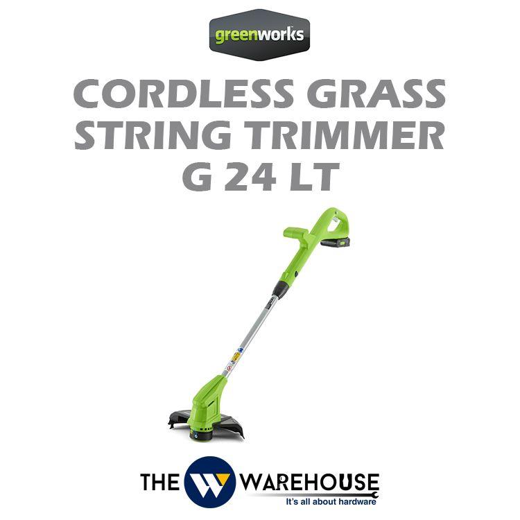 Greenworks Grass String Trimmer G24LT