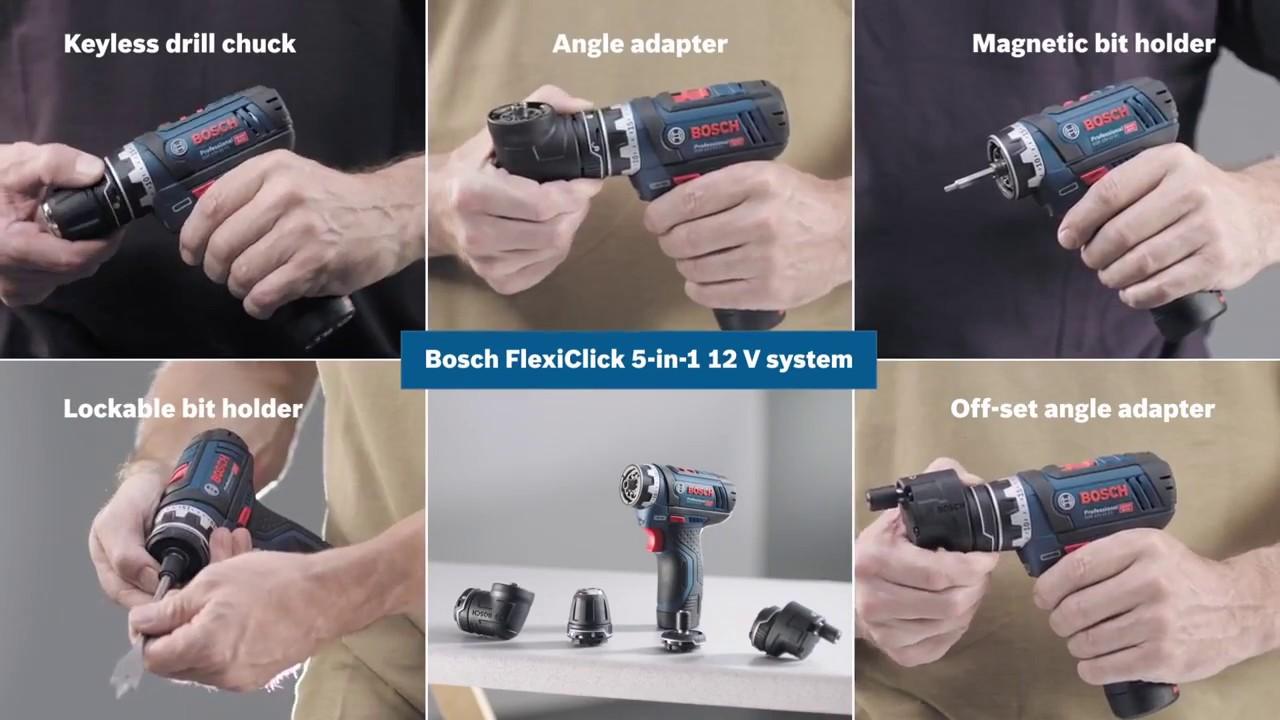 Bosch Cordless Drill Driver GSR 12 V-15 FC