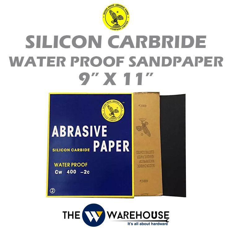 HAWK Silicon Carbride Water Proof Sandpaper
