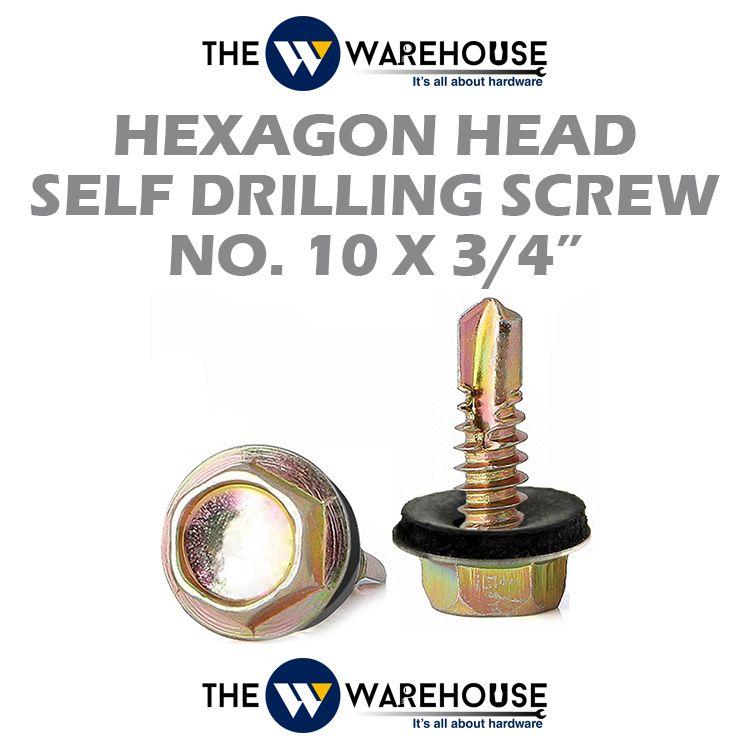 Haxagon Head Self Drilling Screw #10 x 3/4
