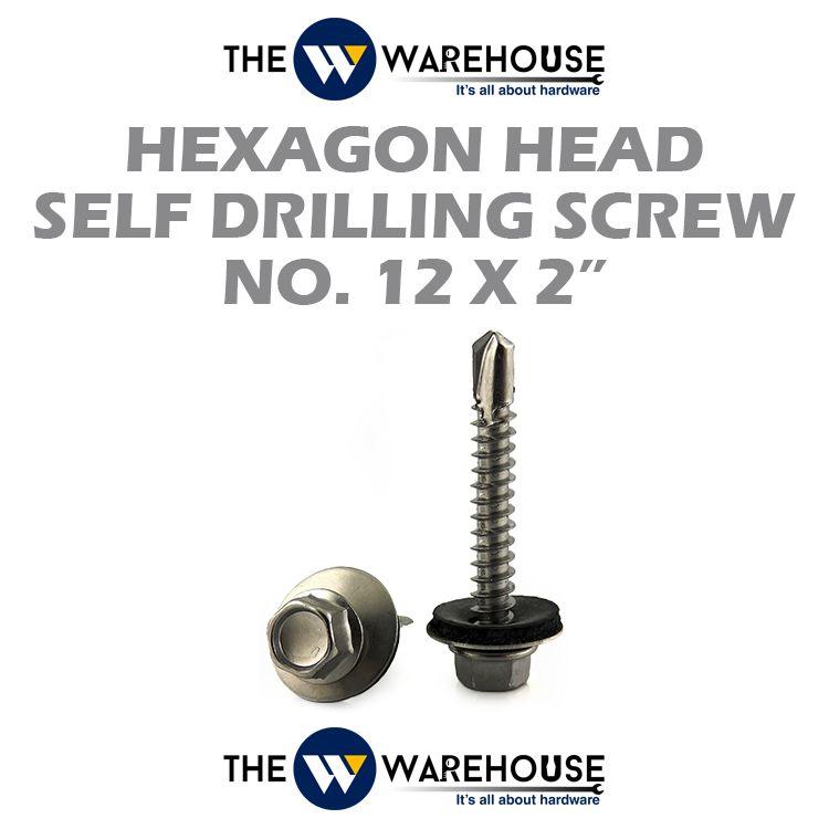 Haxagon Head Self Drilling Screw #12 x 2